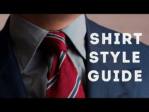 e771c733 Men's Dress Shirt Style Guide - How To select Fit, Collar, Cuffs & More —  Gentleman's Gazette