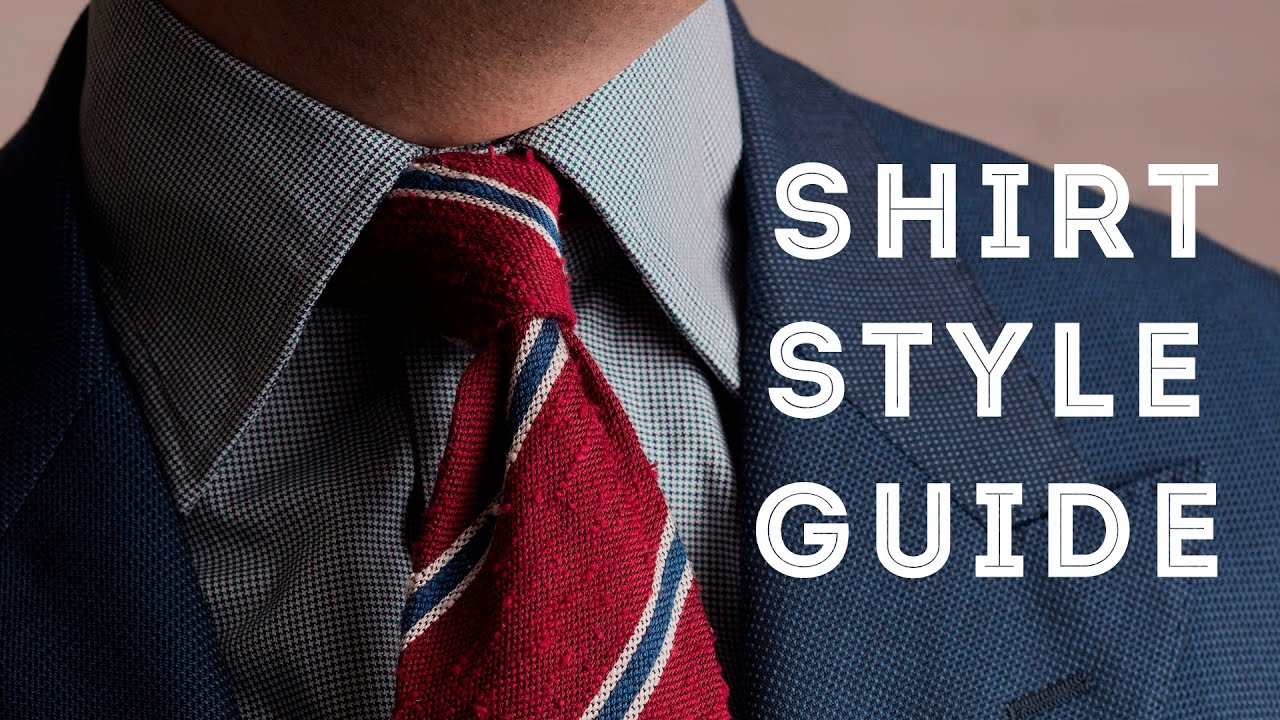 ff1dfebf8b9 Men's Dress Shirt Styles - How To Choose the Perfect Collar, Placket, Cuff  & Fit - YouTube