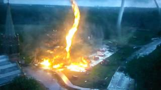 Into The Storm-Firenado Scene Jacobs Death