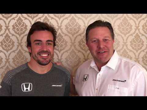 McLaren returns to Indy 500