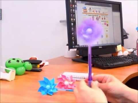 Pinwheel Pen | OfficePlayground.com