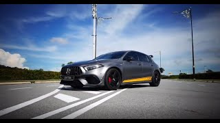 Loud Revs! Mercedes AMG A45 S W177 w/ ARMYTRIX Turbo-Back (OPF/GPF) Valvetronic Exhaust System