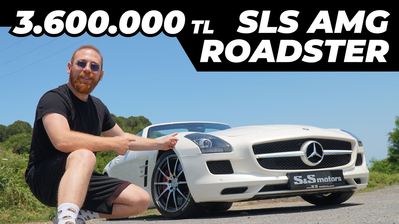 3.6 Milyonluk Araba İnceleme | Mercedes Roadster AMG GTR 0-100 Hız Testi | Roadster GTC Test Sürüşü