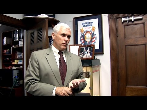 Office Space: Mike Pence's Inner Sanctum