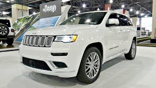 2018 Jeep Grand Cherokee Summit SUV POV Review