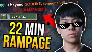 LEGEND IS BACK - WTF Ana Tiny Rampage in 22 Minutes 7.07 | Dota 2