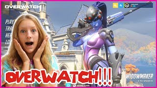 I'm Playing OVERWATCH for the 1ST TIME!