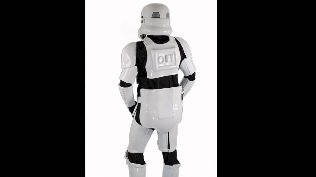Rubies Star Wars Supreme Edition Adult Stormtrooper Costume | 909866 - YouTube & Rubies Star Wars Supreme Edition Adult Stormtrooper Costume | 909866