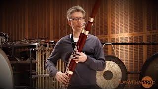 Bassoon lessons, Ole Kristian Dahl, Warm Up Program.