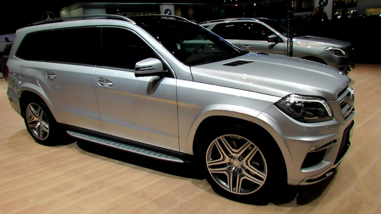 2014 mercedes benz gl class gl500 4 matic exterior and interior walkaround 2014 geneva motor show youtube - Mercedes Suv Interior 2014