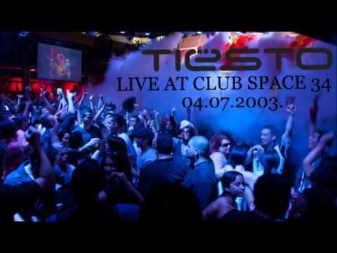 DJ Tiesto Live At Club Space 34, Miami, 04.07.2003.