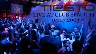 DJ Tiesto Live At Club Space 34, Miami, 04.07.2003.