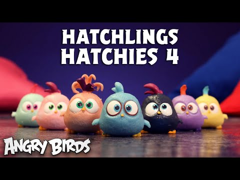 Angry Birds | Toy Unboxing! | Hatchling Hatchies 4
