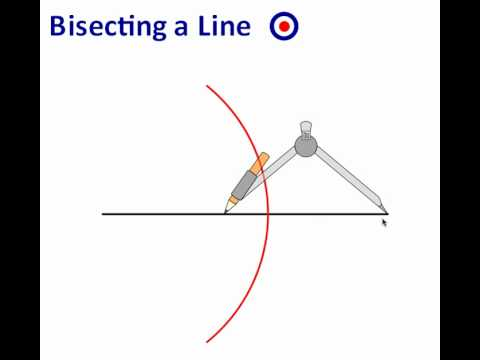 Bisecting A Line Youtube