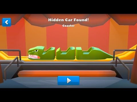 Crash Of Cars Hidden Cars Moon