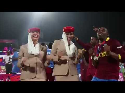 West Indies and Emirates Cabin Crew Dance.