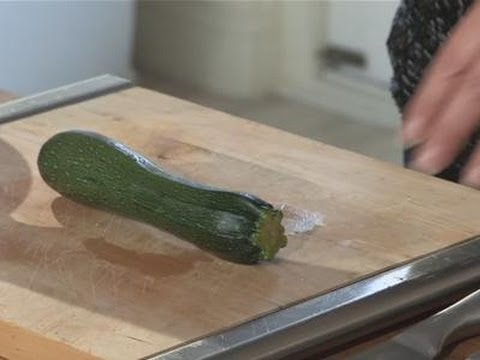 How To Freeze Courgettes