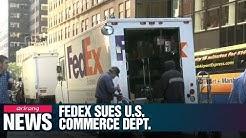 FedEx sues U.S. Commerce Department over export controls in Huawei dispute