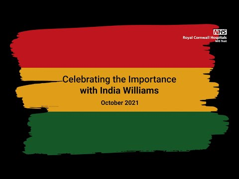 YouTube post - Celebrating the Importance of Black History Month with India Williams