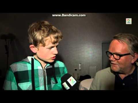 Se Kasper (14) parodiere Kjetil Rekdal