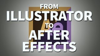 Illustrator İçin After Effects Çalışma - Adobe After Effects Eğitimi