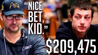 Phil Hellmuth Is STEAMING, Doesn't Want Tom Dwan To OWN Him Again