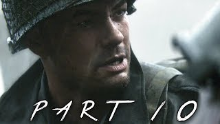 CALL OF DUTY WW2 Walkthrough Gameplay Part 10 - Hill 493 - Campaign Mission 7 (COD World War 2)