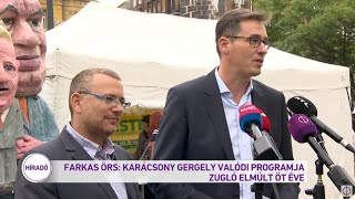Farkas Örs: Karácsony Gergely valódi programja Zugló elmúlt öt éve