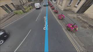 Stroud uk google street view new route 2018