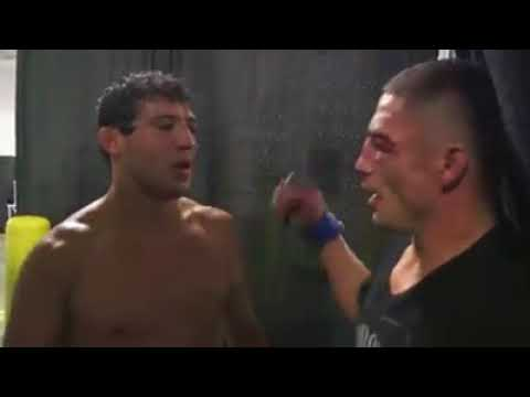 Diego Sanchez and Gilbert Melendez Post Fight