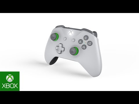 Xbox Wireless Controller - Grey/Green Unboxing