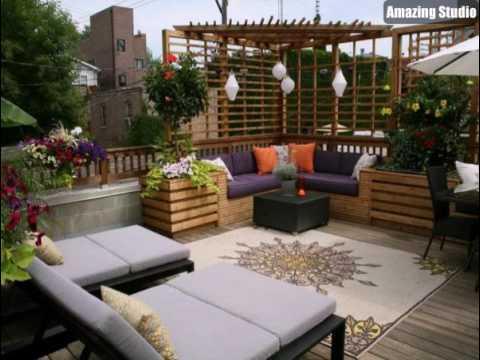 Einrichten Design terrasse mit modernen möbeln einrichten design idee