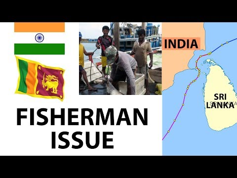 (English) Palk Strait Fishing Dispute between India & Sri Lanka - Origin, Geopolitics & solution