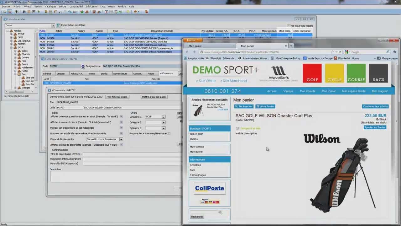 logiciel open source gestion commerciale
