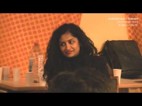 Gauri Shinde spricht mit dem Publikum über ENGLISH VINGLISH - IndoGerman Filmweek 2013