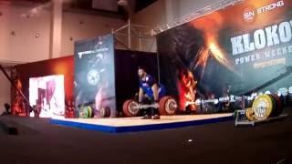 Klokov power weekend 2016 - Berestov vs Klokov