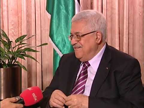 President Abbas interview with Nadia Bilbassy Charters of MBC.wmv