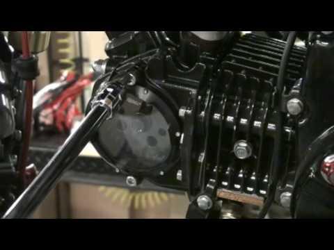 Transparent SEE THROUGH Camshaft Cover - HONDA GROM Hardracing