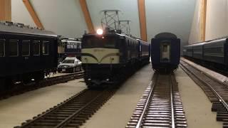 EF58 47号機 12系 OJゲージ鉄道模型