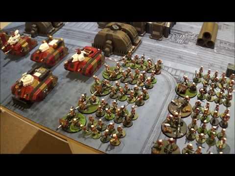 8th Edition Battle Report - Mordian Iron Guard Vs Tau Empire - 2000pts