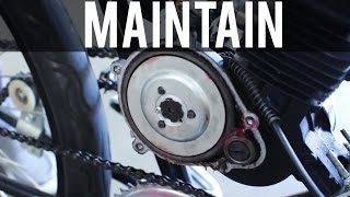 How to Maintain a Motorized Bicycle