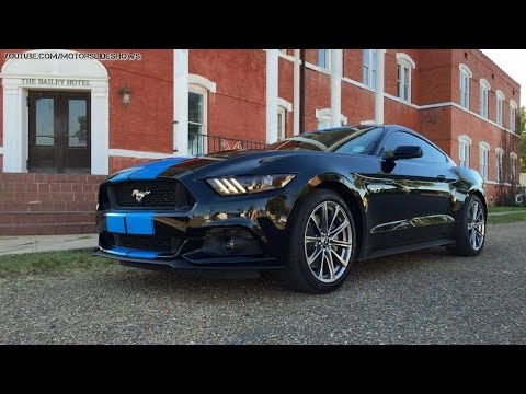 2015 Mustang Stripes >> Grabber Blue Stripes on 2015 Ford Mustang GT Fastback are a Must-Have - YouTube