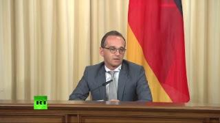 Пресс-Конференция Сергея Лаврова И Хайко Мааса По Итогам Встречи