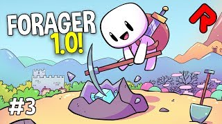 MASSIVE LAND EXPANSION! | FORAGER 1.0 gameplay ep 3 (2019 full release)