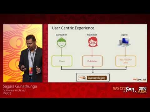 WSO2Con Asia 2016 - Introduction to the All New WSO2 Governance Center