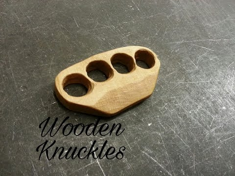Wooden Knuckles making