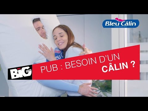 Spot TV Bleu Câlin par l'agence de Publicité BIG Success - 3