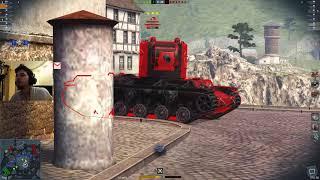 woT Blitz - Спорный танк песка Churchill Mk. VI- World of Tanks Blitz (WoTB)