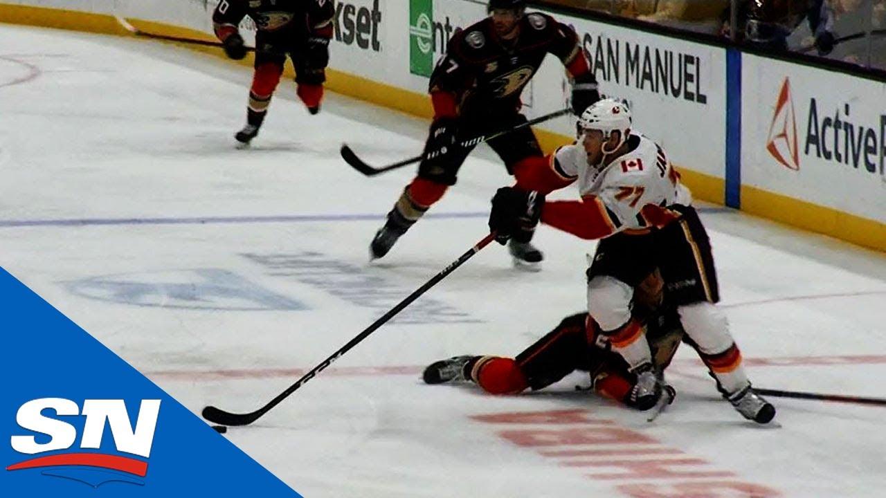 Mark Jankowski Outworks Ducks Power Play For Short-Handed Goal