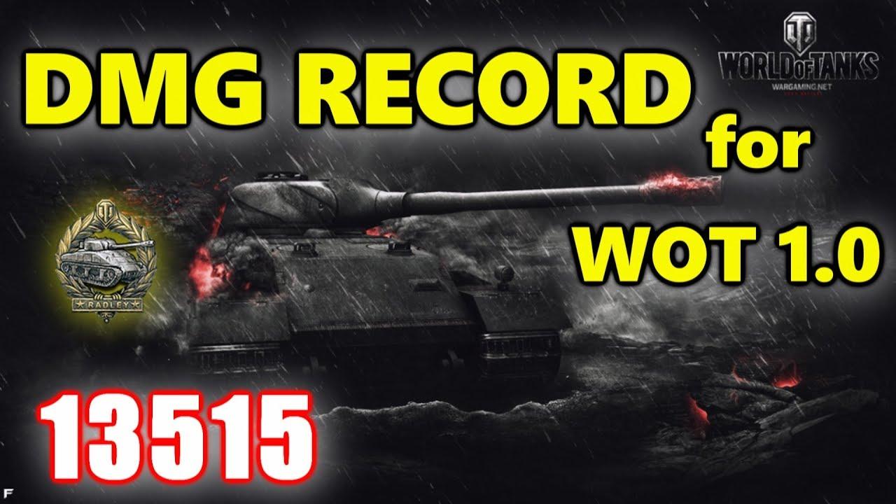 World of Tanks - VK 72.01 (K) - 13515 DAMAGE 9 KILLS - DAMAGE ...
